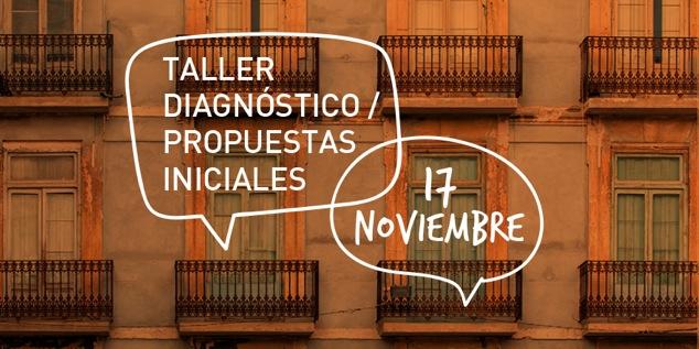 Taller Diagnóstico/Propuestas iniciales