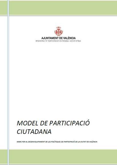 Modelo de Participación