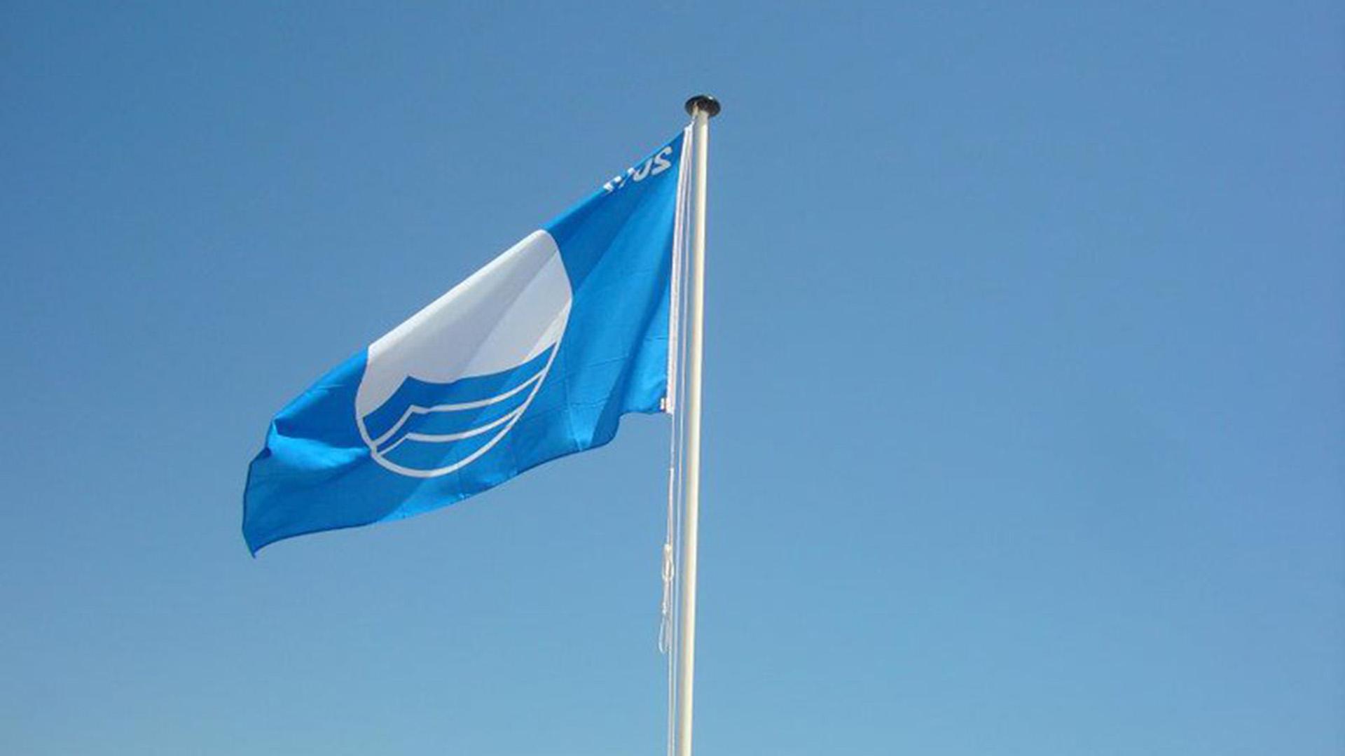 Banderas azules playas