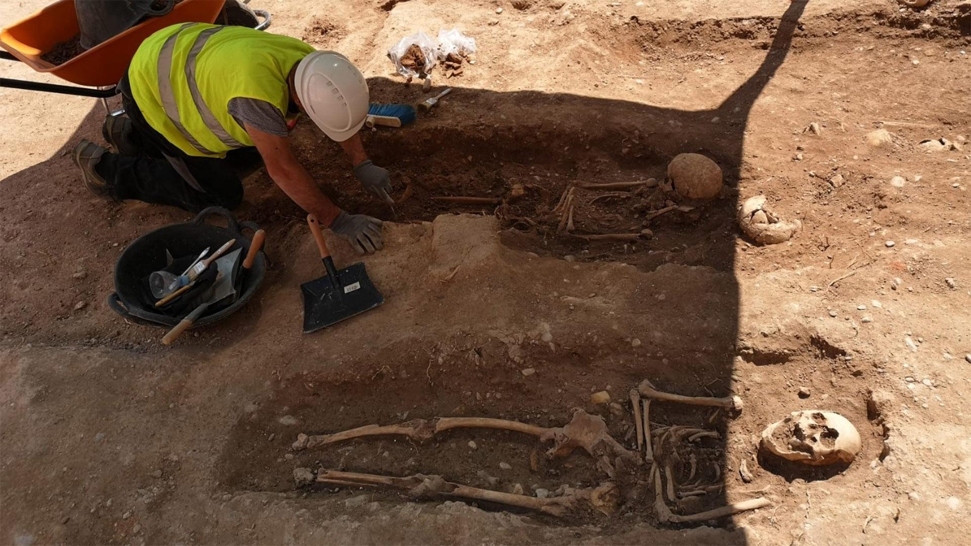Hallazgos arqueológicos muralla islámica