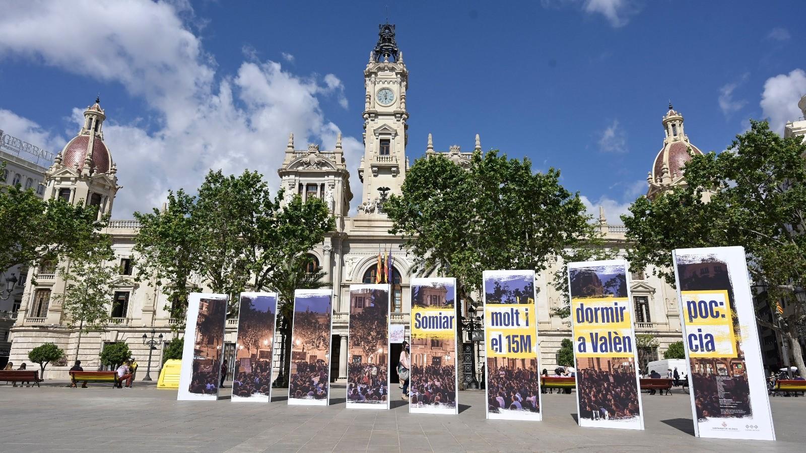 Homenaje movimientos sociales y exposición 15M
